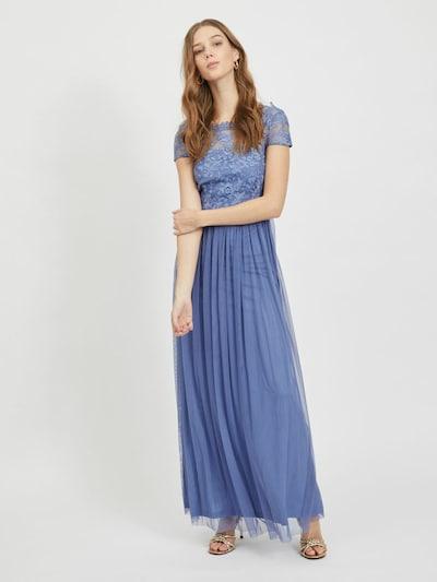 VILA Kleid in blau, Modelansicht