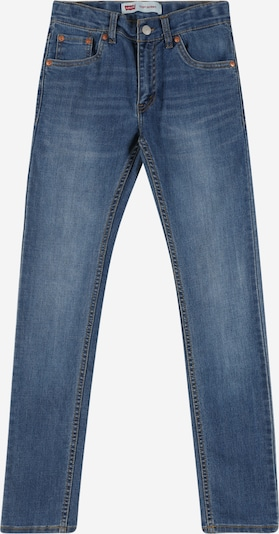 LEVI'S Jeans '510 Skinny Fit' in blue denim, Produktansicht