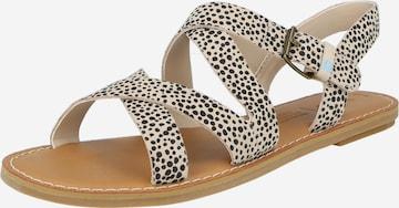 Sandales à lanières 'SICILY' TOMS en beige