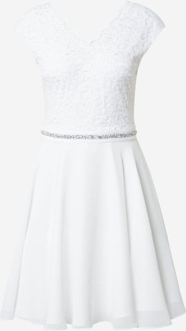 SWING Cocktailkleid in White