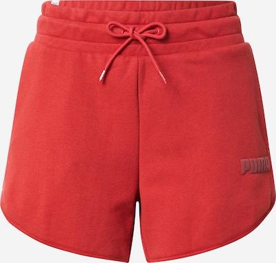 PUMA Sportovní kalhoty - červená, Produkt