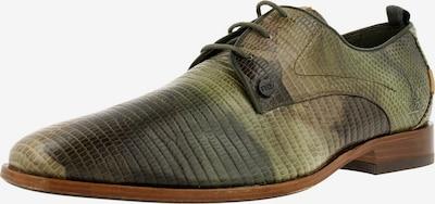 Rehab Chaussure à lacets 'Greg ' en marron / vert, Vue avec produit