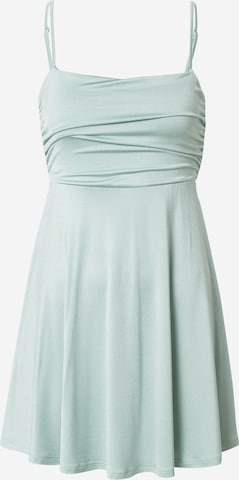 NA-KD Cocktail dress 'Gathered' in Green