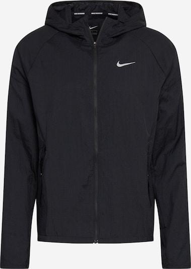 NIKE Sportjacke 'Essential' in dunkelgrau / schwarz, Produktansicht