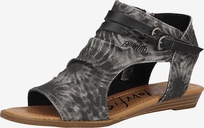 Blowfish Malibu Sandalen in schwarz / schwarzmeliert, Produktansicht
