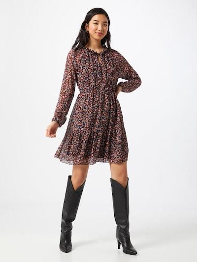 Hailys Kleid 'Josie' in blau / rot / schwarz / weiß, Modelansicht
