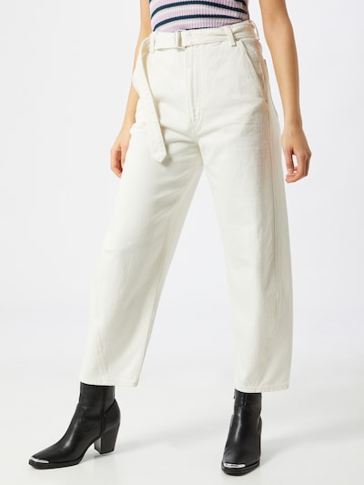 Levi's Made & Crafted Jeans in de kleur White denim, Modelweergave