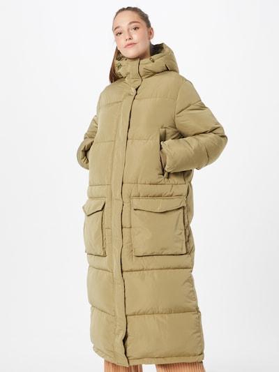 2NDDAY Vinterfrakke 'Snowdy' i khaki, Modelvisning