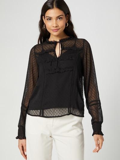 Guido Maria Kretschmer Collection Bluse 'Ginny' in schwarz, Modelansicht