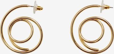 MANGO Boucles d'oreilles 'Hook' en or, Vue avec produit