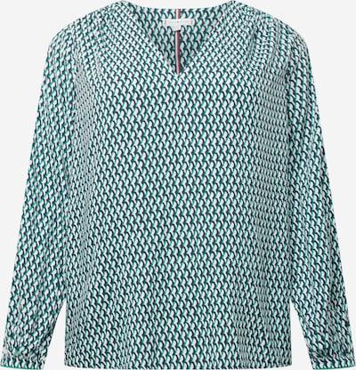Bluză Tommy Hilfiger Curve pe bleumarin / verde / alb, Vizualizare produs