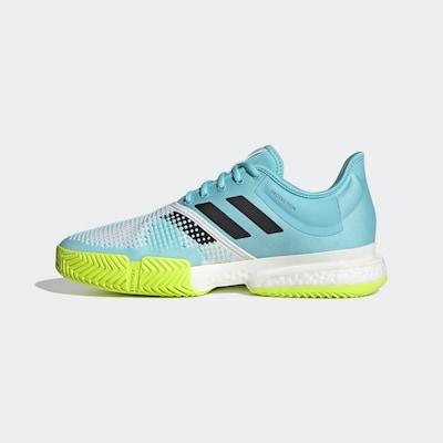 ADIDAS PERFORMANCE Tennisschuh in blau / grasgrün / weiß, Produktansicht