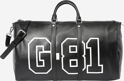 GUESS Bolsa de fin de semana 'QUARTO' en negro / blanco, Vista del producto