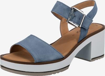 GABOR Sandaletten in blue denim, Produktansicht