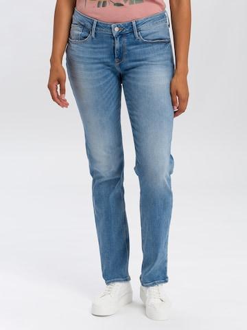 Cross Jeans Hose in Blau