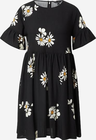 NEW LOOK Kleid in gelb / schwarz / weiß, Produktansicht