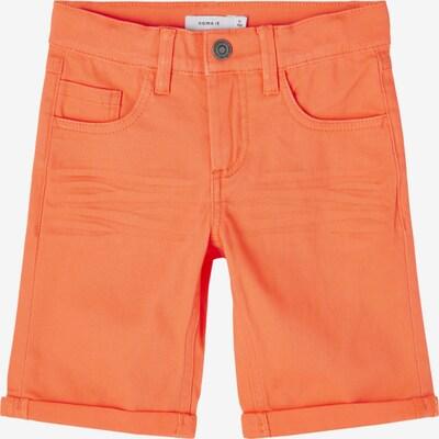 NAME IT Shorts 'SOFUS' in orange, Produktansicht