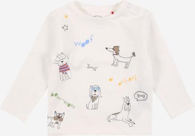 s.Oliver Shirt in mischfarben / schwarz / naturweiß, Produktansicht