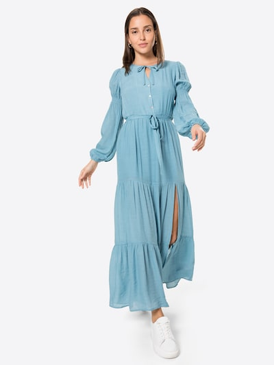 MINKPINK Košilové šaty 'ANIRA' - kouřově modrá, Model/ka