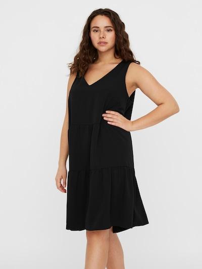 Vero Moda Curve Šaty 'VMOLIVIA' - černá, Model/ka
