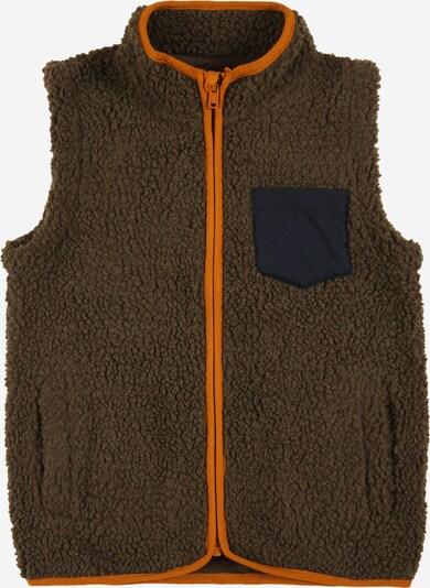NAME IT Weste 'Klint' in schlammfarben / orange, Produktansicht