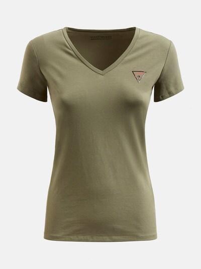 GUESS T-Shirt in grün, Produktansicht