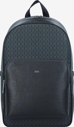 BOSS Casual Rucksack in dunkelgrau / schwarz, Produktansicht