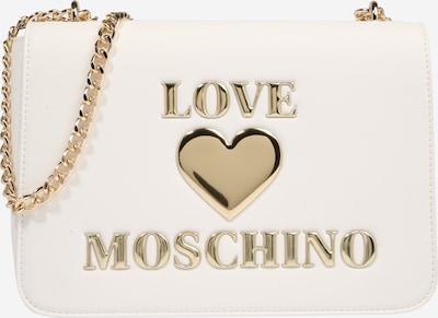 Love Moschino Olkalaukku värissä kulta / valkoinen, Tuotenäkymä