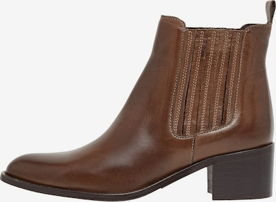 Bianco Chelsea Boots in braun: Frontalansicht