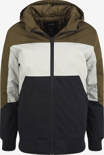 !Solid Between-Season Jacket in Navy / Olive / White, Item view