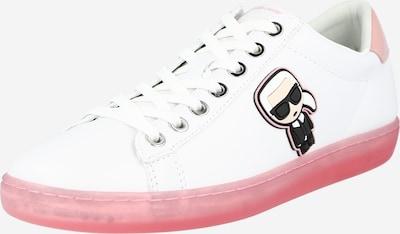 Karl Lagerfeld Zemie brīvā laika apavi melns / balts, Preces skats