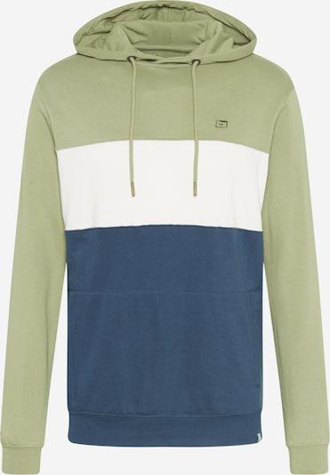 BLEND Sportisks džemperis kamuflāžas / olīvzaļš / balts, Preces skats