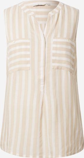 TOM TAILOR Bluse in braun / weiß, Produktansicht