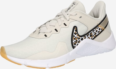 NIKE Sporta apavi bēšs / melns / balts, Preces skats