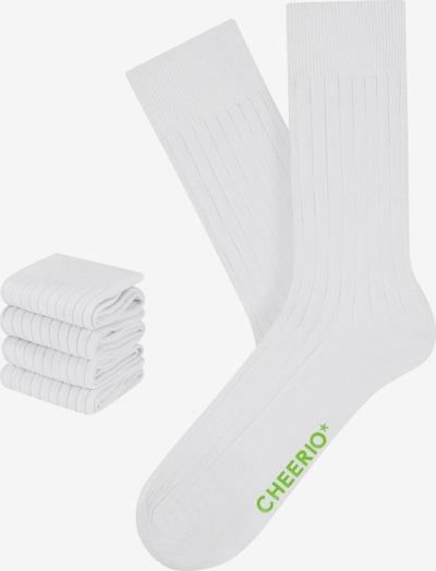 CHEERIO* Socks in White, Item view