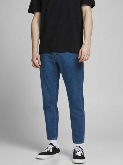 JACK & JONES Jeans 'Frank Leen' in de kleur Blauw denim, Modelweergave