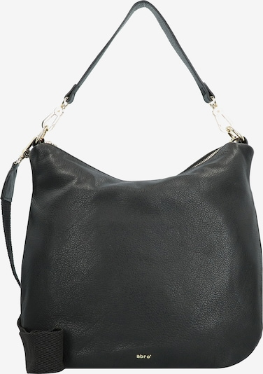 ABRO Schultertasche 'Erna Leder' in schwarz, Produktansicht