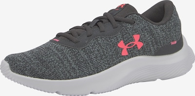 UNDER ARMOUR Running Shoes in mottled grey / Red, Item view