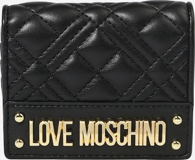 Love Moschino Портмоне в злато / черно, Преглед на продукта