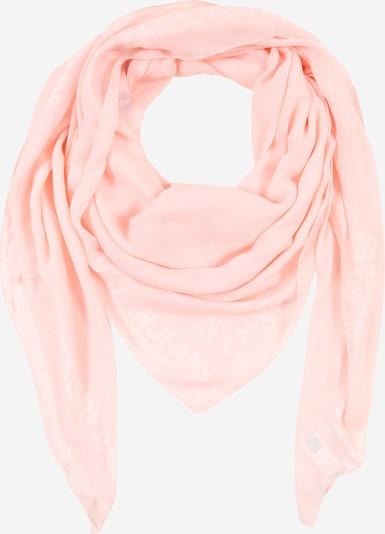 Calvin Klein Jeans Masque en tissu en rose clair / blanc, Vue avec produit