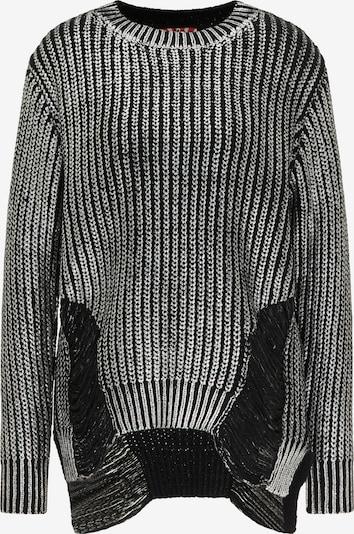 myMo ROCKS Pulover u grafit siva / srebrno siva, Pregled proizvoda