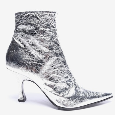 Maison Martin Margiela Dress Boots in 38 in Silver, Item view