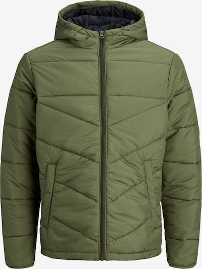 Produkt Veste mi-saison en vert, Vue avec produit