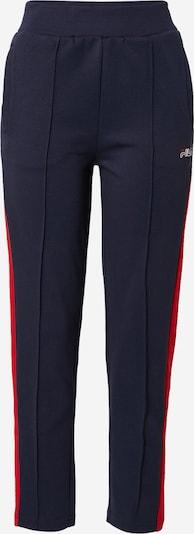 FILA Sporthose 'Panju' in navy / rot, Produktansicht