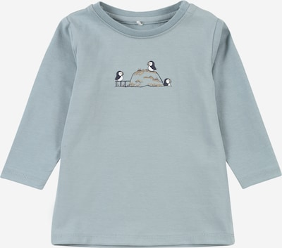 NAME IT Shirt 'OSCAR' in Smoke blue / Night blue / White, Item view