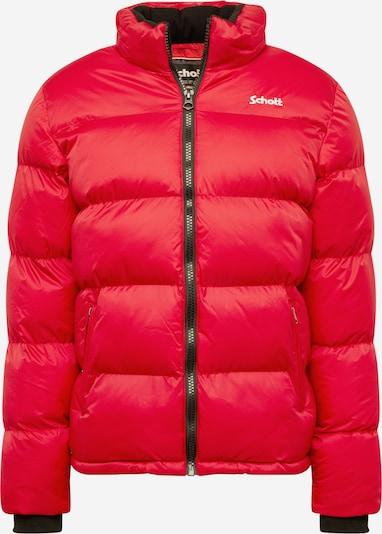 Schott NYC Veste mi-saison 'Idaho' en rouge / blanc, Vue avec produit