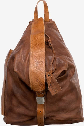 A.S.98 Rucksack in cognac, Produktansicht