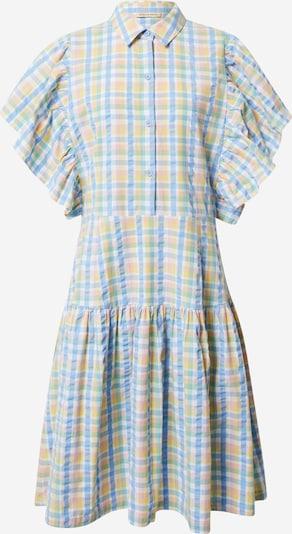Stella Nova Vestido camisero 'Paya' en azul claro / amarillo claro, Vista del producto