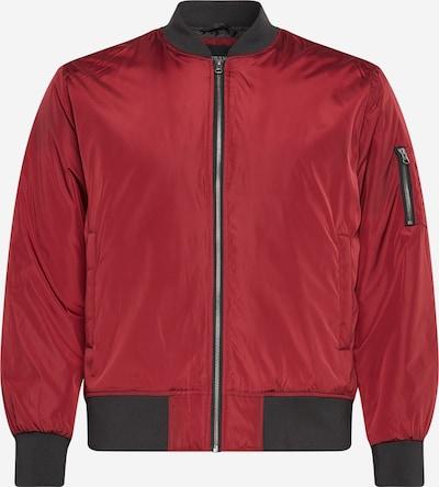 Urban Classics Big & Tall Prijelazna jakna u rubin crvena / crna, Pregled proizvoda