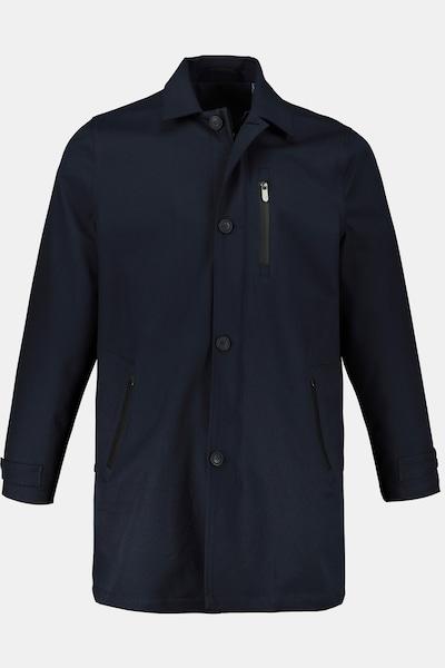 JP1880 Herren große Größen Mantel in navy, Produktansicht